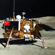China's Chang'e-4 lander and its small rover, Yutu 2