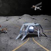FARSIDE illustration on the Moon