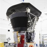 Parker Solar Probe sits in the clean room