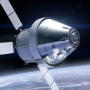 Popular Mechanics article Orion Spacecraft artist illustration NASA
