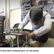 Robots may beat humans back to the moon Robots may beat humans back to the moon