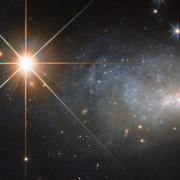 Stars with Galaxy NASA image