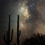 Photo of night sky in Tempe, AZ