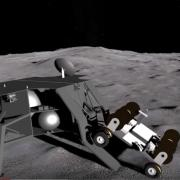 The Far Side Of The Moon Is The Perfect Place For a Radio Telescope artist illustration