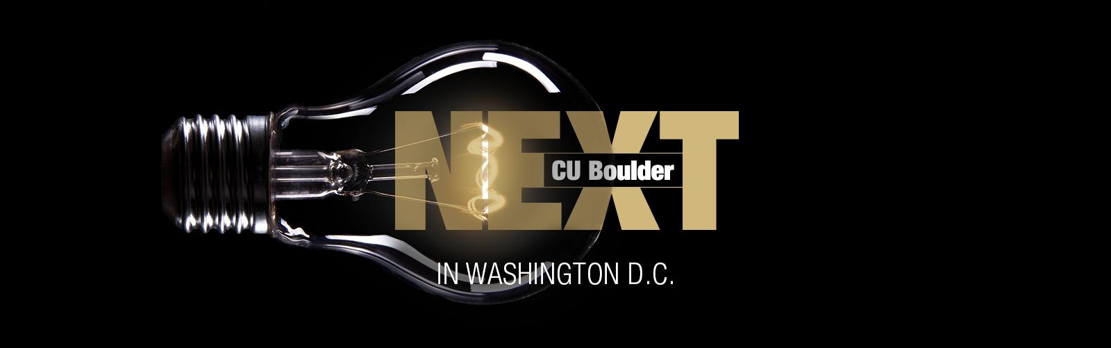CU Boulder Next in Washington DC