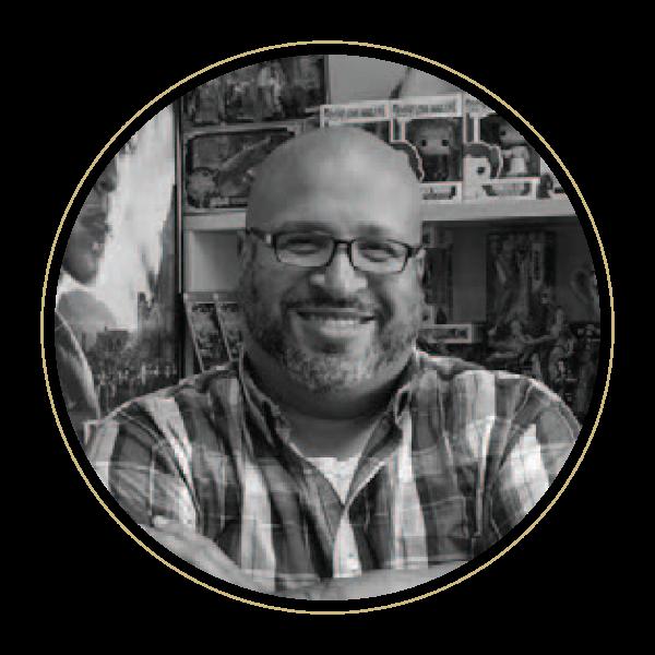 Pixar consultant Christopher Bell (PhDComm'09)