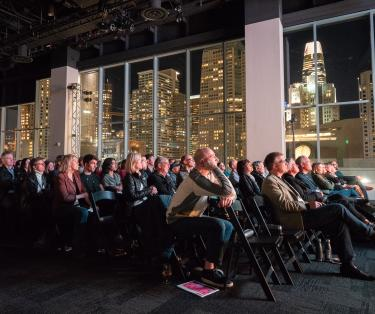 Audience at CU Boulder Next San Francisco
