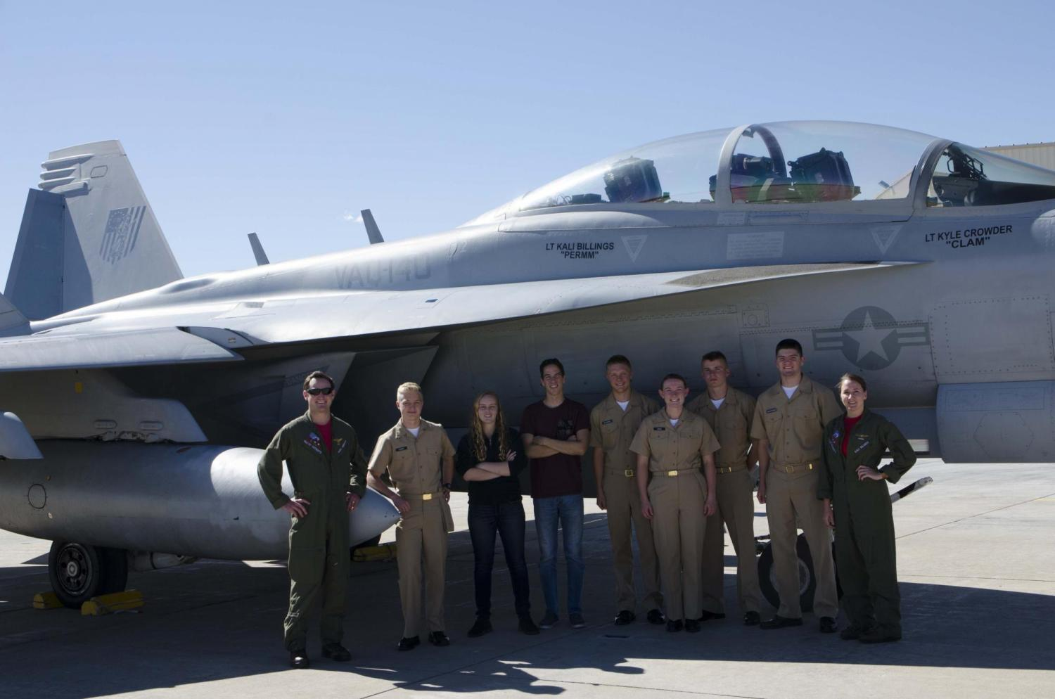 An EA-18G Growler from VAQ-140 visits Colorado
