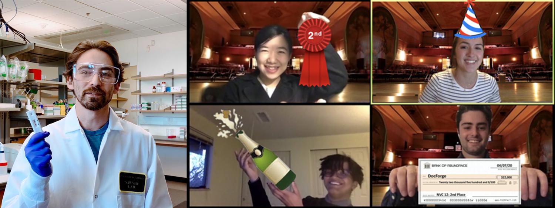 new venture challenge winners collage