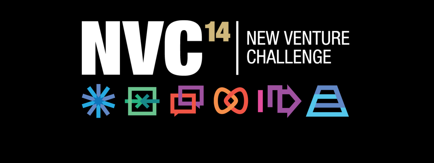 new venture challenge header with icons