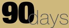 90 days graphic