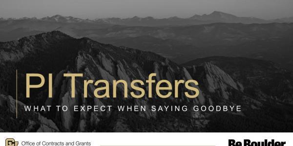 PI Transfers