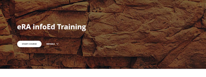 eRA infoEd Training