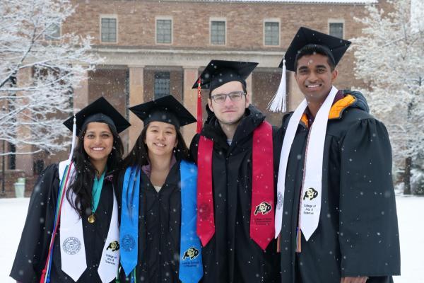 students at graduaton