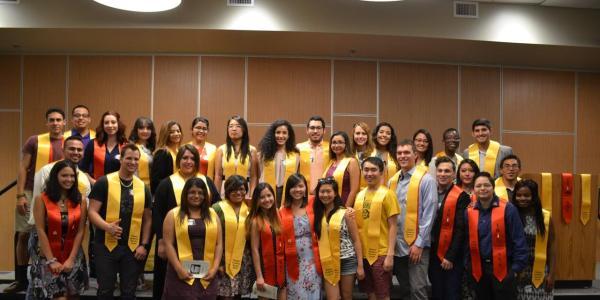 Undergraduate students from AEP
