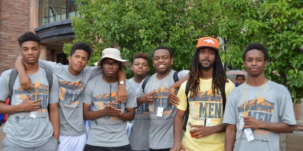 Students participate in community event