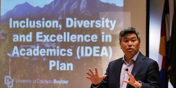 Daryl Maeda presents about the IDEA Plan