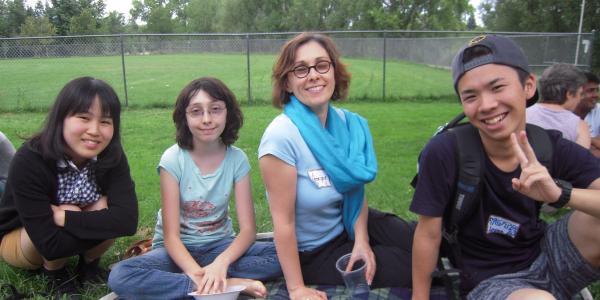 Boulder Friends of International Students picnic