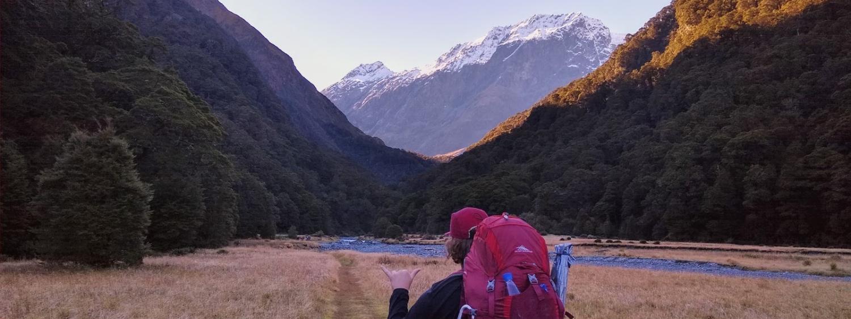 New Zealand, Mt. Aspiring National Park