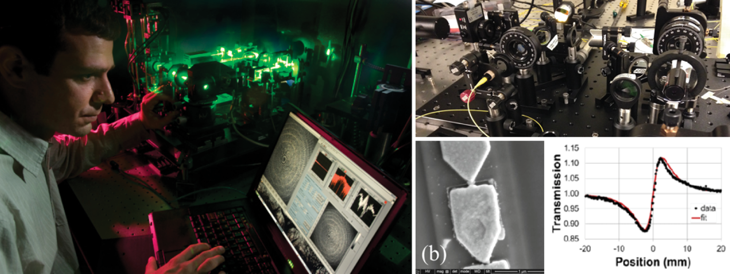 Collage of research images