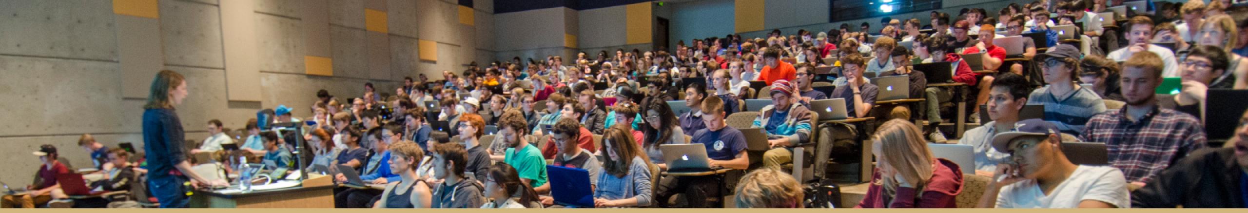 Class lecture at CU Boulder