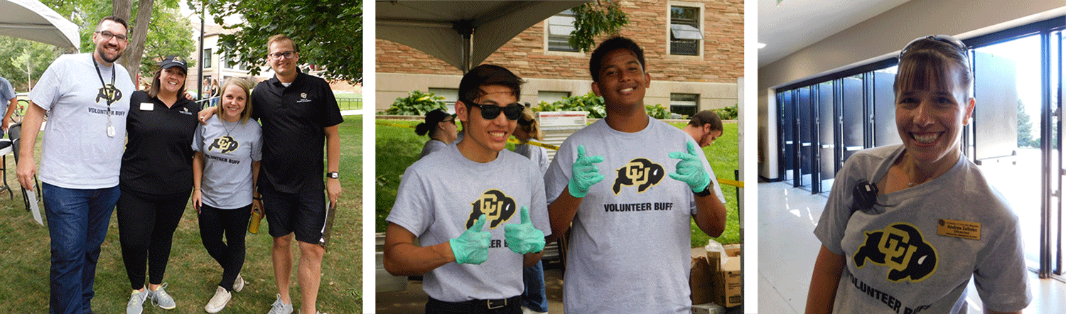 fall welcome volunteers