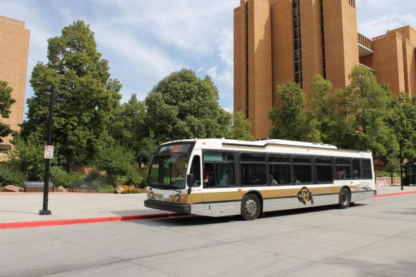 The Buff Bus at CU Boulder