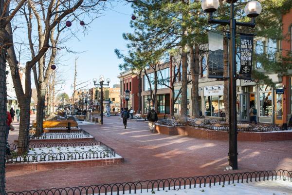 Pearl Street in Boulder