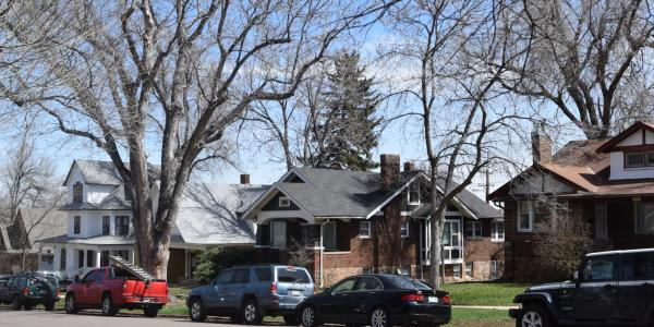 Off-campus houses in Boulder
