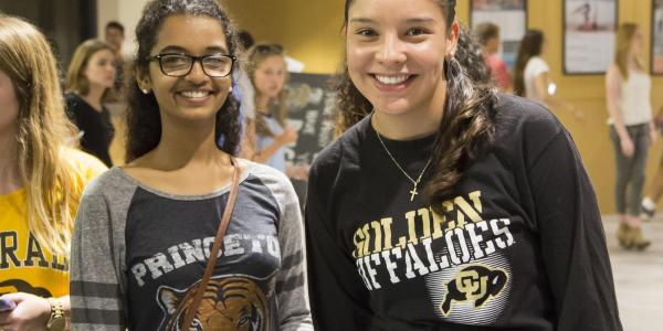 tarnsfer student at fall welcome