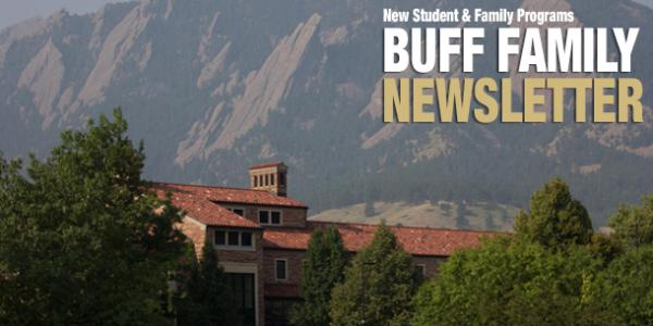 Buff Family Newsletter campus scenic