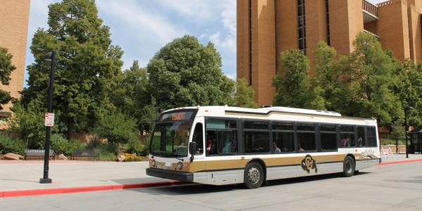 The Buff Bus at CU Boulder