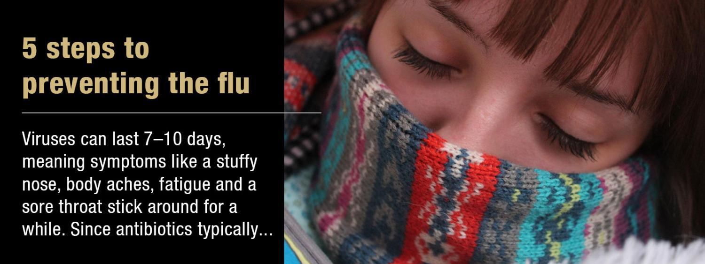 flu steps