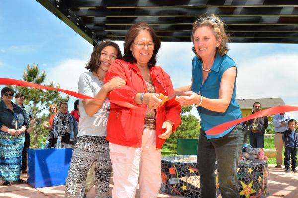 Beth Stade opens geometry park
