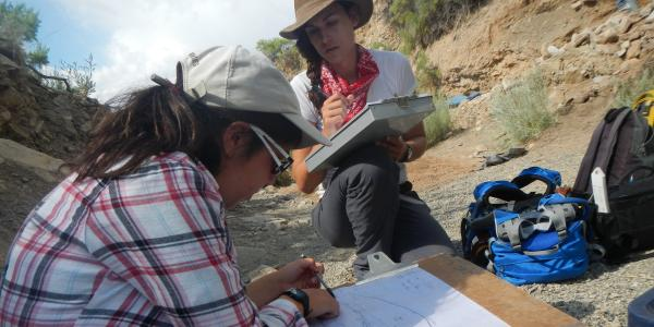 Archaeology students at southern Colorado reservation