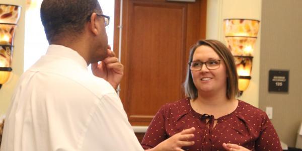 Hannah WIlks, director of the volunteer resource center at CU Boulder