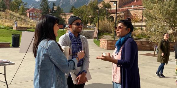 EAH Scholars present materials