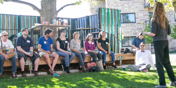 Manufactured housing activist Ishabel Dickens talks about issues facing these homeowners at CU Boulder.
