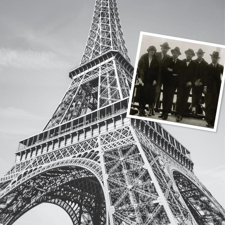 Eiffel Tower and Les Six