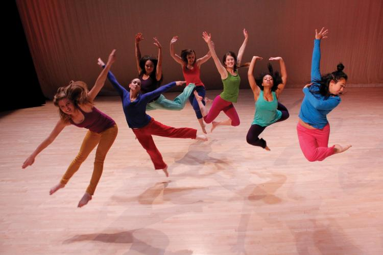 CU Contemporary Dance Works tour