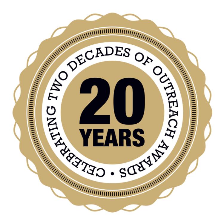 Celebrating two decades of Outreach Awards