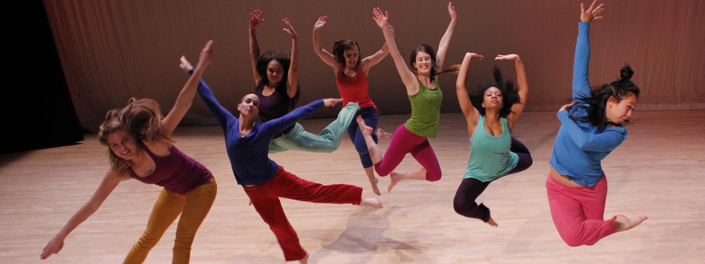 CU Boulder dance students