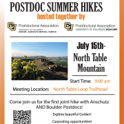 summer hike flyer