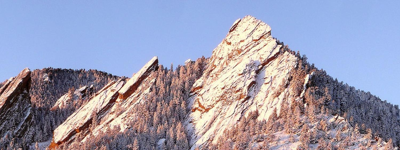 Boulder's Flatirons