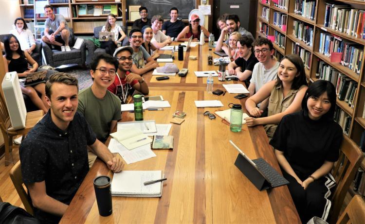 2019 Summer Seminar participants