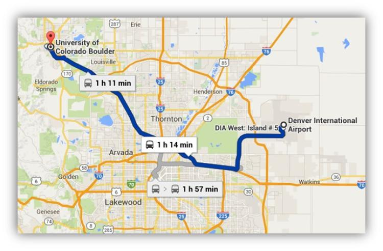RTD Map from DIA to Boulder