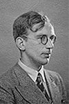 Portrait - George Gamow as student - 2