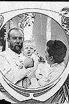 Portrait - George Gamow with Parents