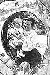Portrait - George Gamow with Mother