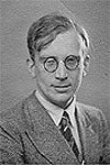 Portrait - George Gamow as student